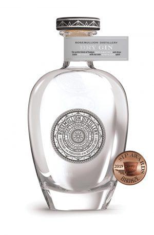 Dry Cornish Gin, created using Cornish rainwater by Rosemullion Distillery.
