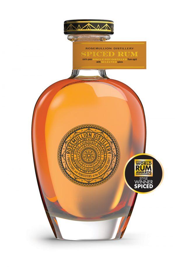 Rosemullion Distillery's award-winning Spiced Rum.