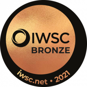 IWSC 2021 Bronze medal