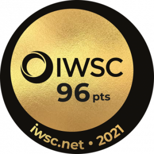 IWSC 2021 gold medal